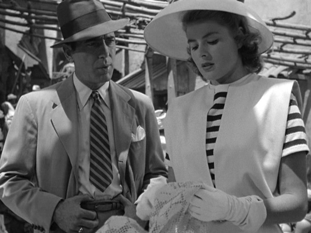 Ingrid Bergman Humpher Bogart